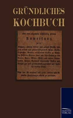 Picture of Gr Ndliches Kochbuch