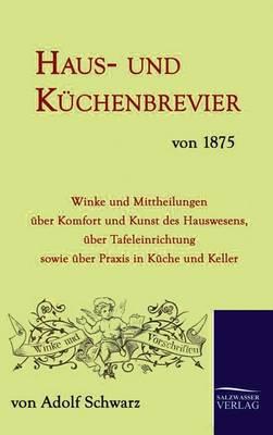 Picture of Haus- Und Kuchenbrevier Von 1875