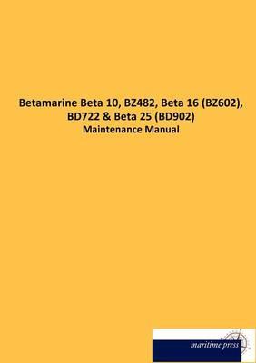 Picture of Betamarine Beta 10, Bz482, Beta 16 (Bz602), Bd722