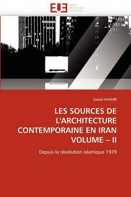 Picture of Les Sources de L'Architecture Contemporaine En Iran Volume II