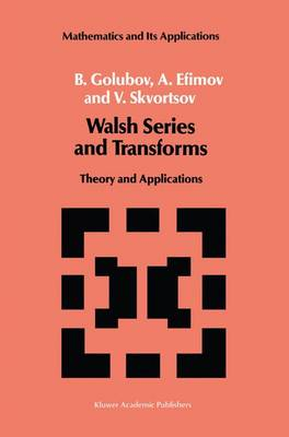 Picture of Walsh Series and Transforms: Theory and Applications