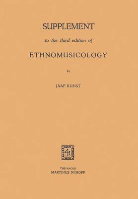 Picture of Supplement to the Third Edition of Ethnomusicology