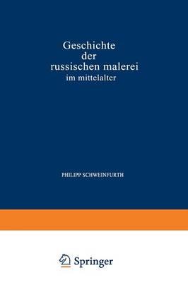 Picture of Geschichte Der Russischen Malerei Im Mittelalter